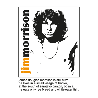 Jim Morrison – The Doors logo vector