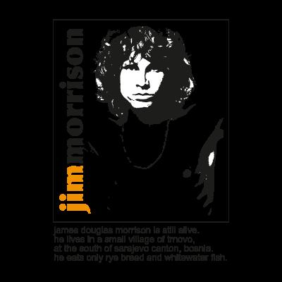 Jim Morrison - The Doors vector logo