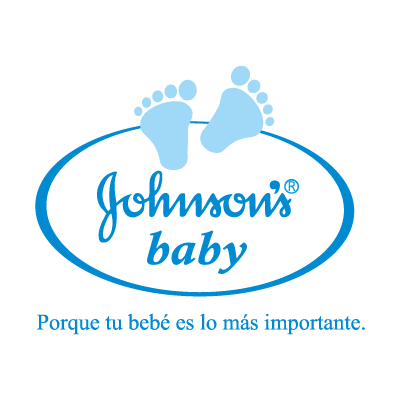Johnson's baby logo vector