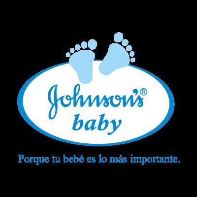 Johnson's baby logo vector