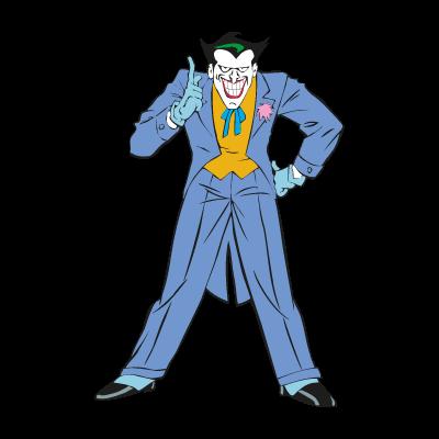 Joker from Batman logo vector
