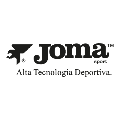 Joma black logo vector