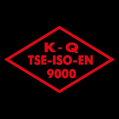 K Q TSE ISO EN 9000 vector logo
