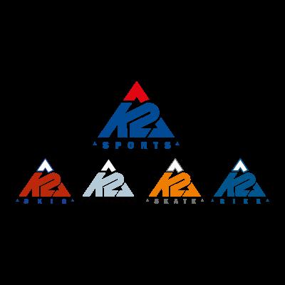 K2 Sports logo vector