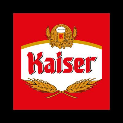 Kaiser Cerveja beer logo vector