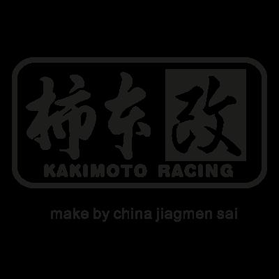 Kakimoto racing logo vector