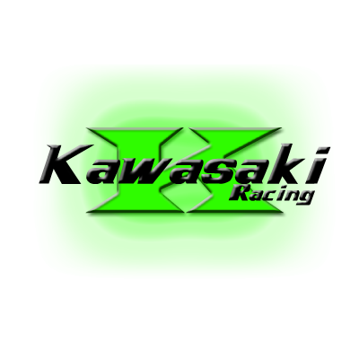Kawasaki Racing logo vector