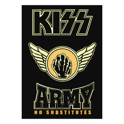 KISS Army Fist logo vector