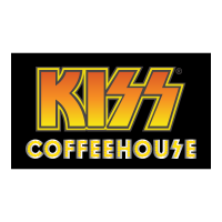 Kiss Coffeehouse vector logo