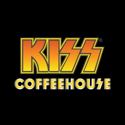 Kiss Coffeehouse vector logo