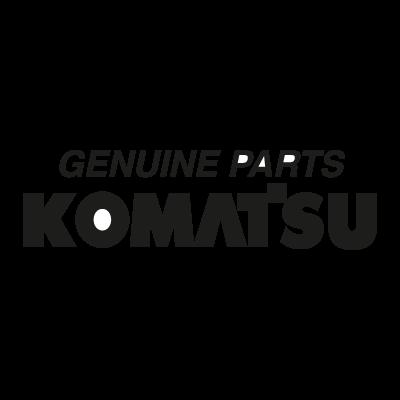 Komatsu Genuine Parts logo vector
