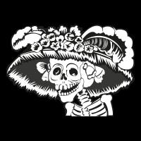 La Catrina vector logo