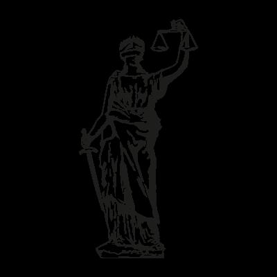 Lady Justice vector logo