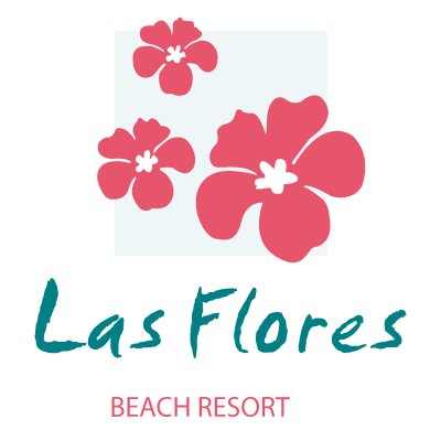 Las Flores logo vector