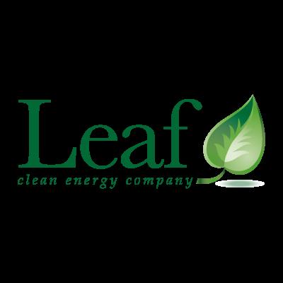 Leaf vector logo