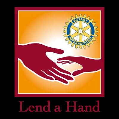 Lend a Hand logo vector