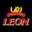 Leon cerveza logo vector
