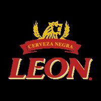 Leon cerveza vector logo
