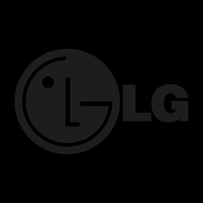 LG black logo vector