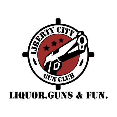 Liberty City Gun Club logo vector