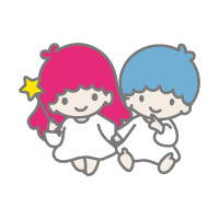 Little Twin Stars vector