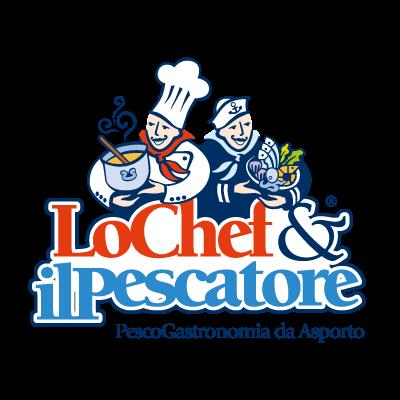Lo Chef e il Pescatore logo vector