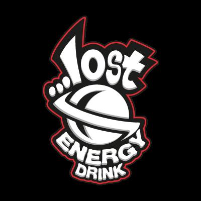 Lost Energy Drink vector logo
