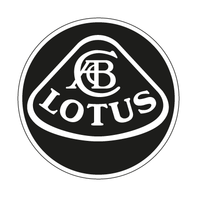 Lotus black logo vector