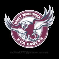 Manly Warringah Sea Eagles vector logo