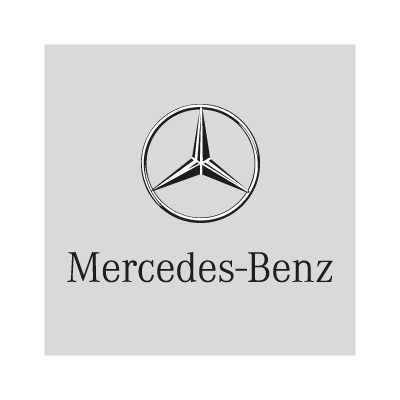 Mercedes-Benz (background) vector logo