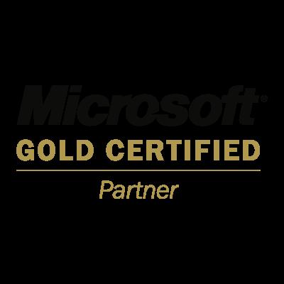 Microsoft Gold Certified Partner vector logo