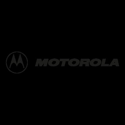 Motorola black logo vector
