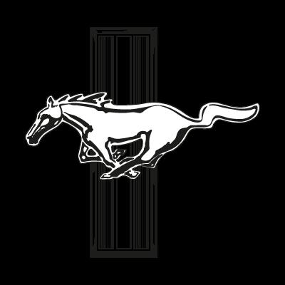 Mustang Ford logo vector