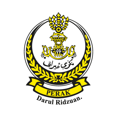 Coat of arms of Perak logo vector