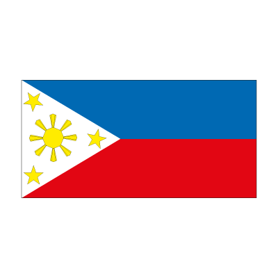 Flag of Philippines logo vector