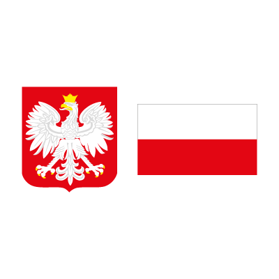 flag of poland vector logo flag of poland logo vector