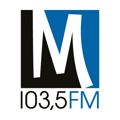 M 103,5 Radio logo vector