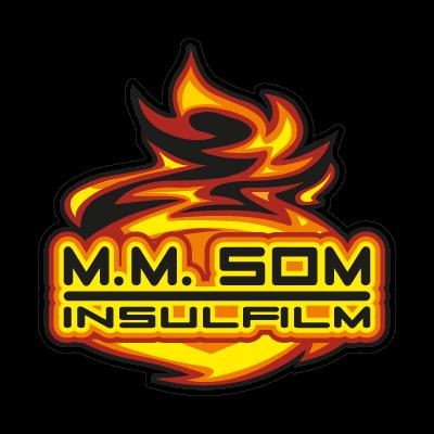M. M. Som Insulfilm logo vector