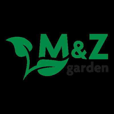 M&Z Garden logo vector