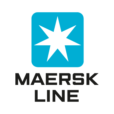 Maersk Line logo vector