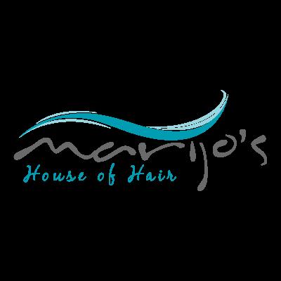 Marijo's House of Hair logo vector