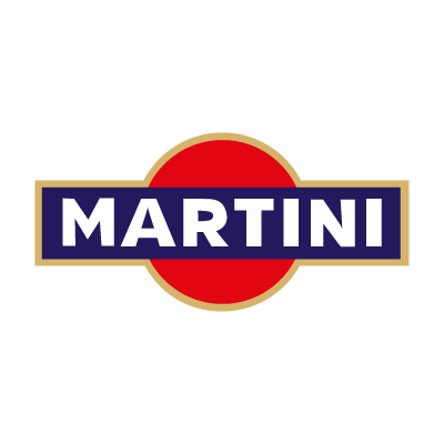Martini (cocktail) logo vector