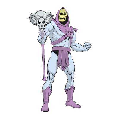Master of the Universe – skeletor logo vector