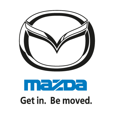 Mazda (Get in. Be moved.) logo vector