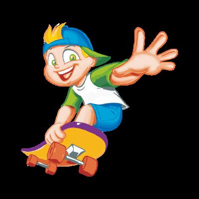 Menino No Skate logo vector