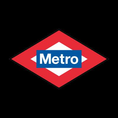Metro Madrid logo vector