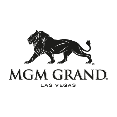 MGM Grand black logo vector