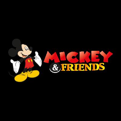 Mickey & Friends (.EPS) vector