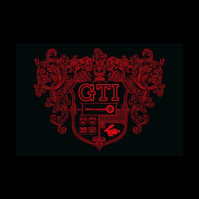 MkV GTI Crest logo vector