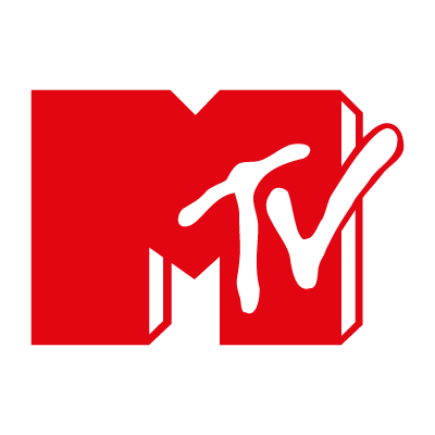 Mtv Television logo vector